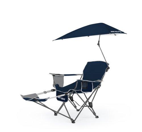 Sport-Brella Recliner Chair, Midnight Blue front-247583