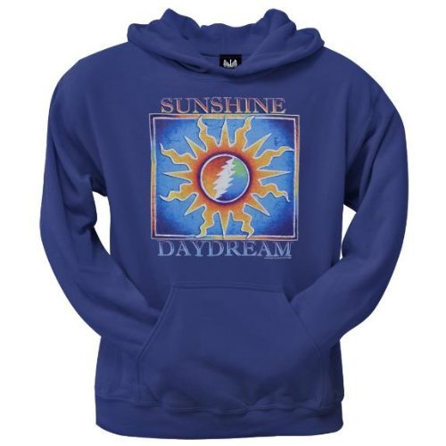 Old Glory Mens Grateful Dead - Sunshine Daydream Pullover Hoodie - X-Large Blue