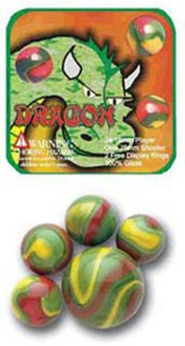Mega Marble- 24 Collectible Marbles,1