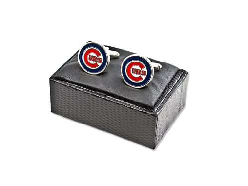 MLB Chicago Cubs Cut Out Logo Cuff Links