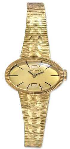 Antique Pocket & Wrist Watches Longines 14kt Gold Womens Vintage Watch Lg00250