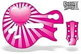 echange, troc Guitar Hero 3 Guitar Skin: Pink Hearts (Wii) [Import anglais]