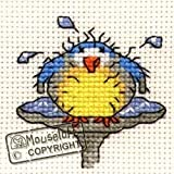 Mouseloft Mini Cross Stitch Kit After The Bath Stitchlets Collection