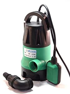 Submersible Water Pump 1/2 HP 2000GPH Trash Clean Water Flooding Pool Garden