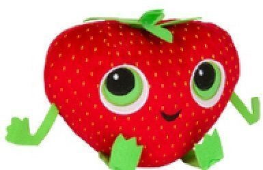 Stawberry Plush Cloudy with a Chance of Meatballs 2 Foodimal by Kelly Toy