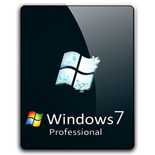r2digital - MICROSOFT WINDOWS 7 PROFESSIONAL ESD ITALIA con ADESIVO versione FULL PRO 32 64 BIT LICENZA OEM STICKER SOFTWARE ORIGINALE con OMAGGIO DVD