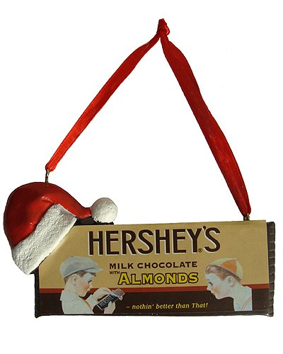 Vintage Hershey's Milk Chocolate Christmas Ornament