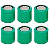 6 Pcs CR13N Bulk 3V Lithium Battery Compatible With CR1/3N DL1/3N 1/3N K58L 2LR76 CR11108 72L76 KL1/3