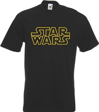 Star Wars Classic Logo T Shirt T-Shirt Print All Sizes All Colours NEW Mens