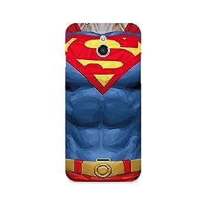 Ebby Superman Body Premium Printed Case For InFocus M2