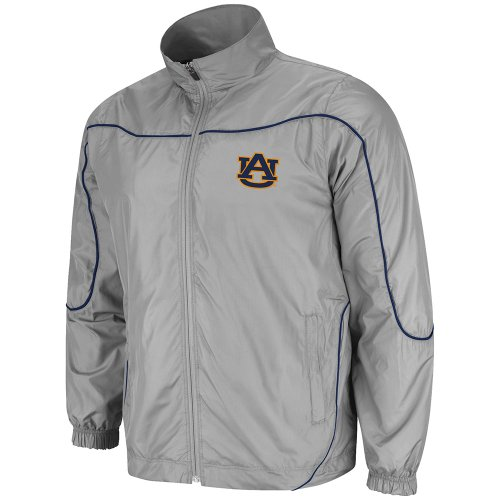 NCAA Men's Auburn Tigers Gunner Full Zip Jacket (Charcoal, Small) at Amazon.com