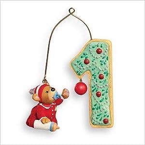 #!Cheap Hallmark Keepsake Christmas Tree Ornament - My First Christmas 2007