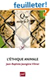 L'�thique animale