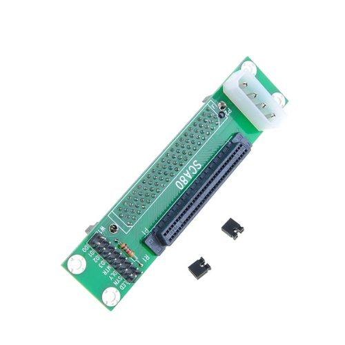 Sca 80 To 68 Pin Ultra Scsi Ii/Iii Lvd-Se Adapter