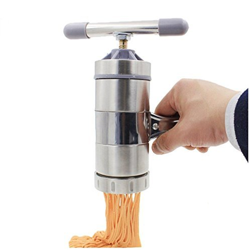 Virtuous * DIY Manual Kitchenaid Attachments Noodle Press Pasta Maker   Fruits,vegetable,citrus Juicer Press   Pasta Machine with 5 Noodle Mould   Sta available at Amazon for Rs.3549