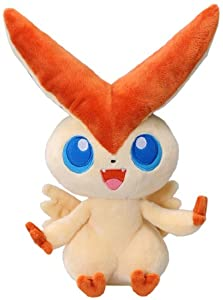 "Takara Tomy Pokemon Black & White Voice Activated Talking Plush Toy - 12"" Victini (Japanese Import) (japan import) en BebeHogar.com"