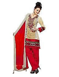 Cenizas embroidered Semi Stich Salwar Suit Duptta (2004)