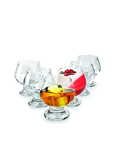 Circleware Set of 6 Samba Mini Dessert/Brandy 7-Oz.Glasses As You See