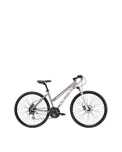Olmo Bicicleta Trekking Voyager 21V Mujer Gris