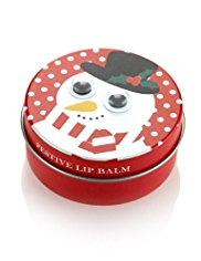Happy Holidays Festive Lip Balm Tin 10g