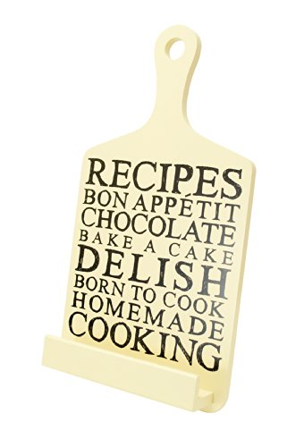 Boston Warehouse Creme Recipes Design Cookbook/Tablet Stand