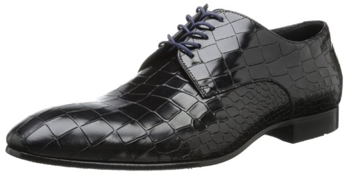 BOSS Black by Hugo Boss Pessot Oxford 男士鳄鱼纹皮鞋 意产