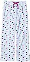 Calvin Klein Big Girls'  Multi Heart Allover Print Pajama