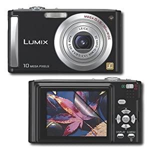 """Universal 2.5"""" LCD Screen Protector for Panasonic Lumix DMC-FS3, DMC-FS5, DMC-FX10, DMC-FX100, DMC-FX12, DMC-FX30, DMC-FX33, DMC-FX35, DMC-FZ18, DMC-FZ8, DMC-L10, DMC-LS75, DMC-LS80, DMC-LZ10, DMC-LZ7, DMC-LZ8, DMC-LZ80, DMC-TZ2, DMC-TZ4, DMC-FX48, DMC-FX37, DMC-L585, and many more..."""