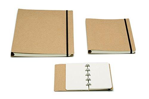Atoma Binder Alain Berteau A5, Cardboard, Checkered