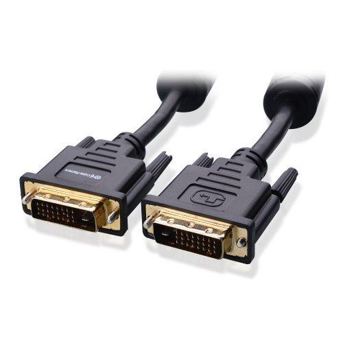 Cable Matters 金メッキコネクタ搭載 フェライト内蔵 DVI-D デュアルリンクケーブル 100% 純銅 2m