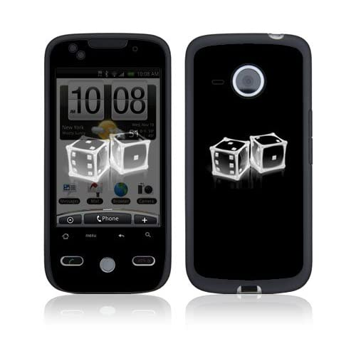 Crystal Dice Protective Skin Cover Decal Sticker for HTC Droid Eris Cell Phone