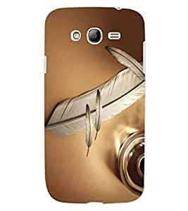 ColourCraft Lovely Feather Design Back Case Cover for SAMSUNG GALAXY GRAND Z I9082Z