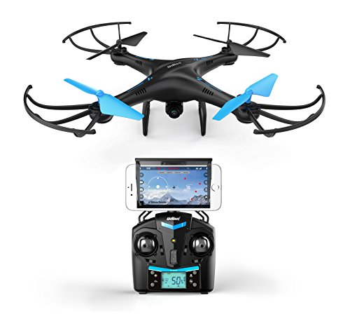 U45-Blue-Jay-WiFi-FPV-Quadcopter-Drone-w-HD-Camera-Altitude-Hold-and-Live-Video-Plus-Remote-Control-For-Aerial-Photography-Easy-to-Fly-for-Expert-Pilots-Beginners-Great-Gift-Idea-by-Force1RC