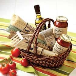 Italian Gourmet Gift Basket: Hot Price Classic Pasta Gift Basket