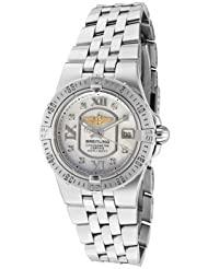 Inexpensive!! Women's Windrider White Diamond White MOP Dial Stainless Steel Limited time