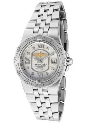 Women's Windrider White Diamond White MOP Dial Stainless Steel