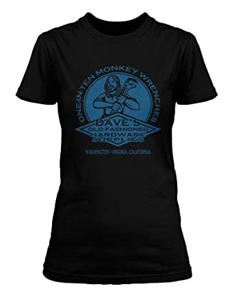 Foo Fighters inspired Monkey Wrench Dave Grohl T-shirt, Womens, Small, Black