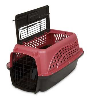 Petmate Two Door Top Load 19-Inch Pet Kennel,