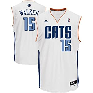 Buy Kemba Walker #15 Charlotte Bobcats NBA Youth Home White Jersey by adidas