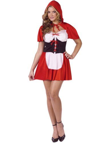 Red Riding Hood Fairytale Costume Sexy Storybook Costume Adult Theatre Costumes