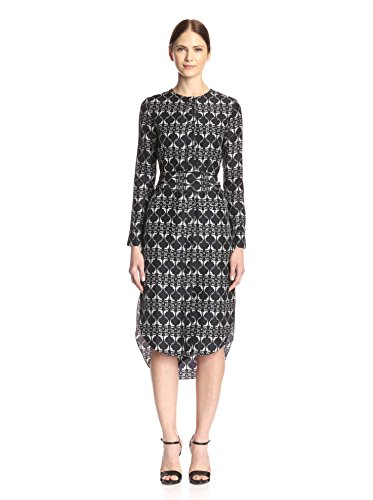 Thomas Wylde Women's Valerian Printed Silk Dress