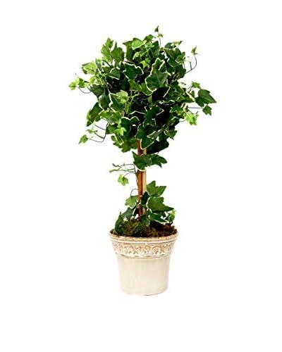 Creative Displays Ivy Topiary, Green/Crème