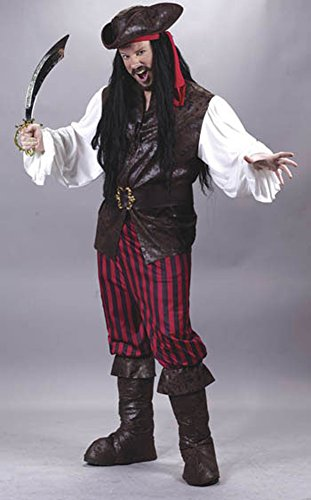 High Seas Male Buccaneer Adult Halloween Costume