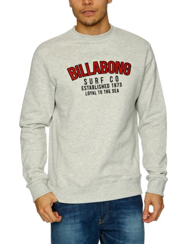 Billabong Emerson Crew Men's Jumper Grey Heather X-Large