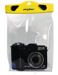 "DRY PAK DP-68C 6"" x 8"" Yellow/Clear Camera Case"