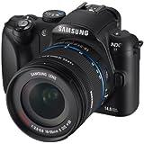 Samsung NX11 Systemkamera (14,6 Megapixel, 7,6 cm (3 Zoll) Display, bildstabilisiert) inkl. 18-55 mm II OSI i-Function Objektiv schwarz