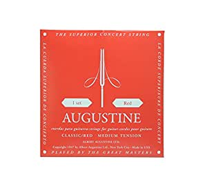 AUGUSTINE オーガスチン クラシックギター弦 レッドセット RED SET