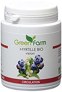 Green Farm - Myrtille Bio - Vision - Circulation - 120 Gélules