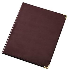 TOPS Cardinal Sewn Vinyl Padholder, Letter Size, Burgundy, (47222 970)