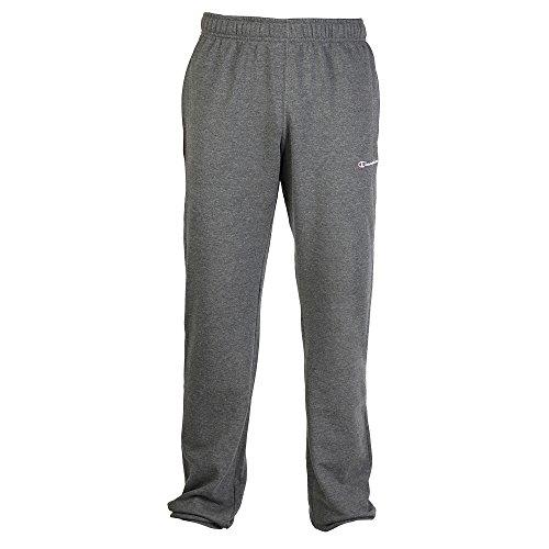 Champion - Pantaloni Sportivi - Uomo (XL) (Grigio)